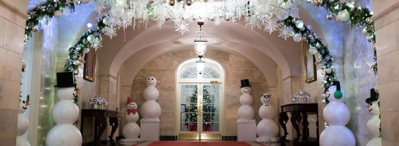 large of hgtv white house christmas 2017