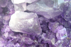 Crystals, Amethyst for spiritual growth