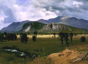 Moat Mountain from the Intervale by Albert Bierstadt