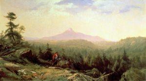 Indian Guide, Mount Chocorua by Aaron Draper Shattuck