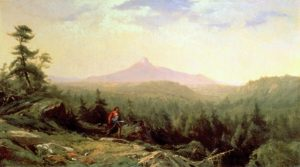 Indian Guide, Mount Chocorua by Aaron Draper Shattuck