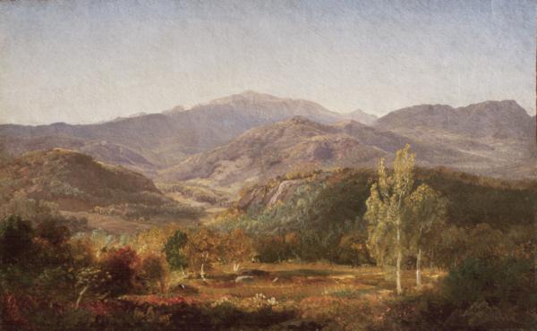 Mount Washington -- Autumn Glory from Jackson by Aaron Draper Shattuck