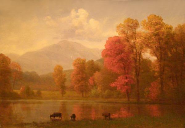 Mount Washington from Jackson by Albert Bierstadt