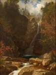 Glen Ellis Falls by Albert Bierstadt