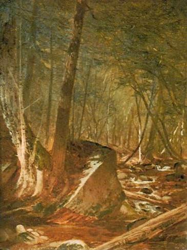 Artist Brook by Alfred Thompson Bricher