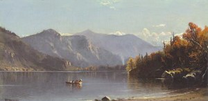 Echo Lake, Franconia Notch by Alfred Thompson Bricher