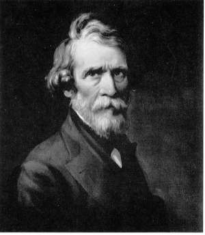 Self-portraint of Russell Smith (1812-1896)