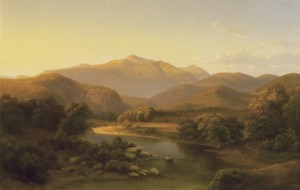 Mount Washington from Saco River by Ann Sophia Towne Darrah