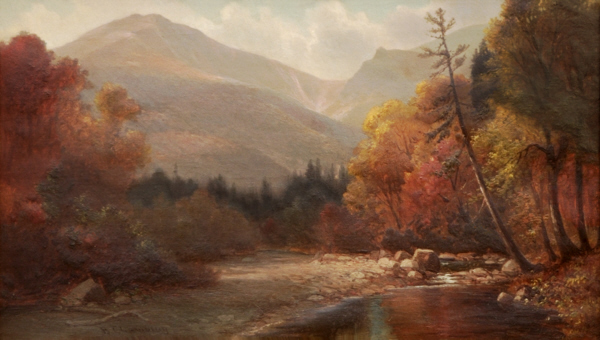 Tuckerman's Ravine and Lion's Head by Benjamin Champney