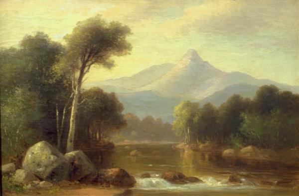 Mount Chocorua from Tamworth by Benjamin Champney