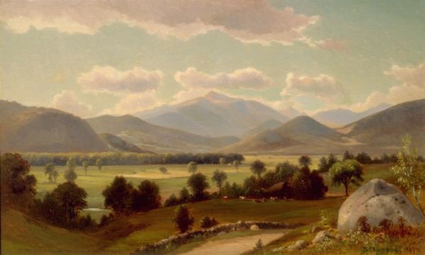 Mount Washington from the Intervale by Benjamin Champney