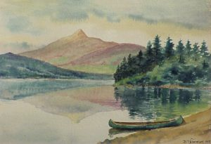 Mount Chocorua from Lake Chocorua by Benjamin Tupper Newman