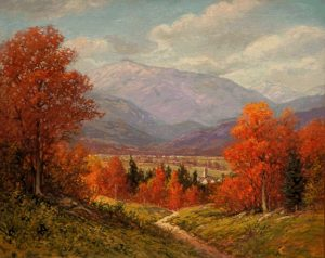 Mount Washington from Sunset Hill, North Conway by Harry H. Howe