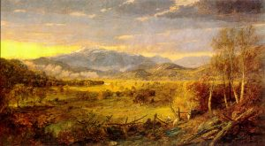 Mount Washington from Sunset Hill, North Conway by Jasper Francis Cropsey