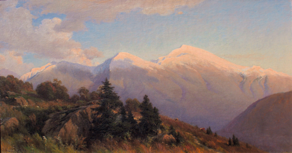 Presidential Range from Jefferson by John Ross Key