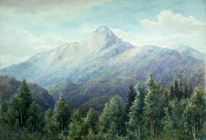 Mount Chocorua from Wonalancet by William F. Paskell