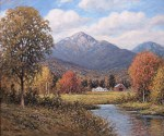 Mounts Whiteface and Passaconaway from Near Wonalancet by William F. Paskell