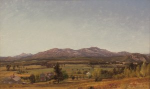 Mount Chocorua and Moat Mountain by William Hart