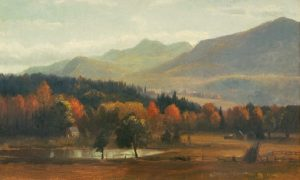 Mount Chocorua and Moat Mountain by Benjamin Champney