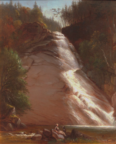 Ripley Falls by Benjamin Champney