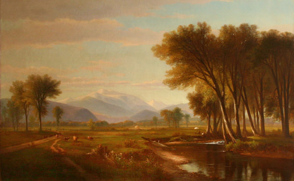 Mount Washington and Artist Brook from the Intervale by Benjamin Champney