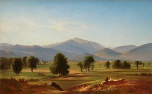 Peace and Harmony, Mount Washington from the Intervale by Benjamin Champney