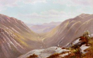 Crawford Notch from Mount Willard by Benjamin Champney