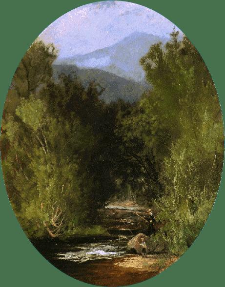 Glen (Summer Landscape) by Harrison Bird Brown