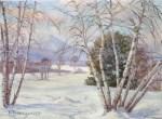 Mount Kearsarge from Fryeburg, ME by Benjamin Tupper Newman