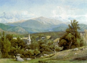 Mount Washington from Sunset Hill, North Conway by Charles Herbert Moore