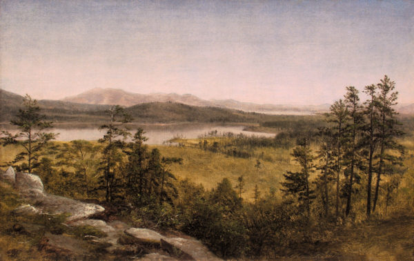 Ossipee Lakes by David Johnson