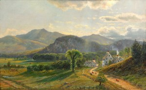 Moat Mountain, Little Attitash, and White Horse Ledge by Edmund Darch Lewis
