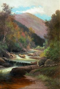 Lafayette Brook, Autumn by Edward Hill