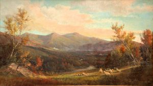 Presidential Range from Lancaster by Edward Hill