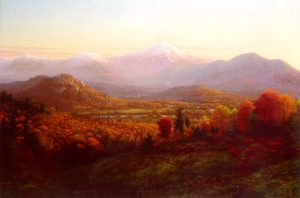 Presidential Range from Jefferson by Edward W. Nichols