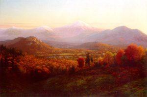 Presidential Range from Jefferson by Edward W. Nichols