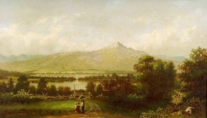Mount Chocorua by Francis Seth Frost