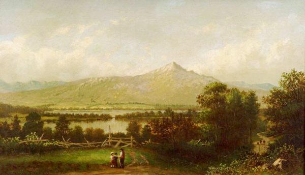 Mount Chocorua by Francis Seth Frost