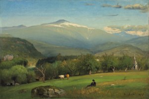 Mount Washington from Sunset Hill, North Conway by George Inness