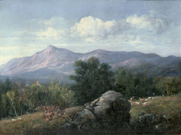 Moat Mountain from Jackson by George Loring Brown