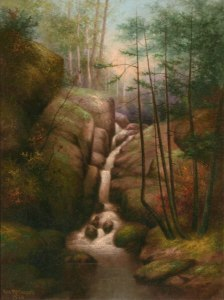 Artist Falls, North Conway by George McConnell