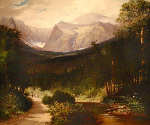 Tuckerman's Ravine and Lion's Head by Harrison Bird Brown