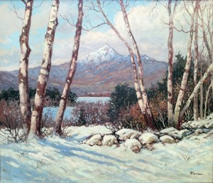 Mount Chocorua from Chocorua Lake, Tamworth by Harry H. Howe