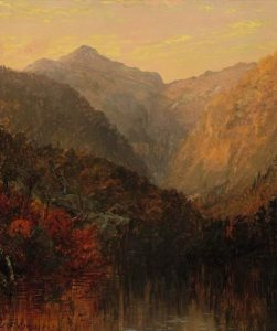 Mount Jefferson from the Glen House by Jasper Francis Cropsey