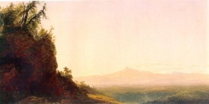 Mount Chocorua from Tamworth by John Frederick Kensett