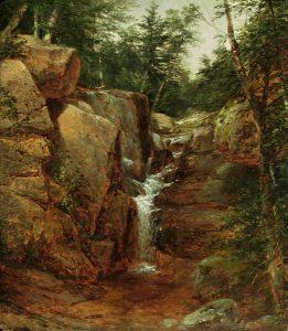 Artist Falls by John W. Casilear