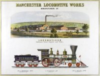 Manchester Locomotive Works by Lorenzo Lüthÿ