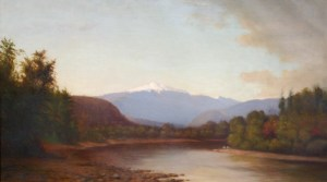 Mount Washington from the Saco River by Nicholas Biddle Kittell