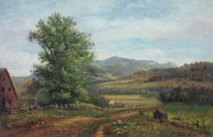 Welch Mountain from West Campton by Robert Spear Dunning