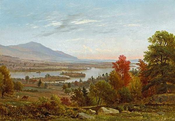 Lake Winnipesaukee from Center Harbor by Samuel Lancaster Gerry